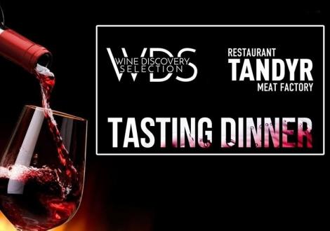 Дегустация вин WDS и Terra Initia в Tandyr Meat Factory!