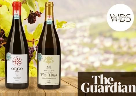 Orgo Saperavi и Vita Vinea Kisi - в шестерке лучших вин The Guardian