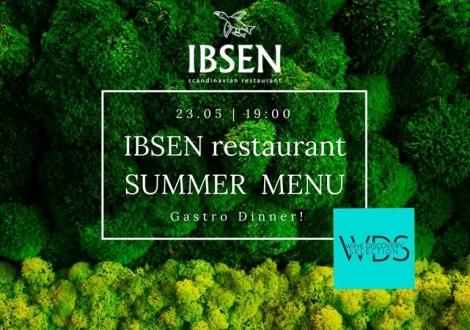Летний гастроужин с WDS в ресторане IBSEN